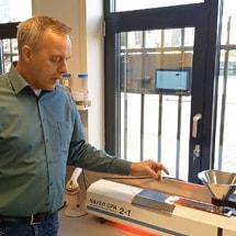 Nieuwe manier van digitale deeltjesgrootte analyse in legmeel