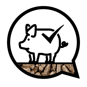 gezonde varkens met ABZ Diervoeding
