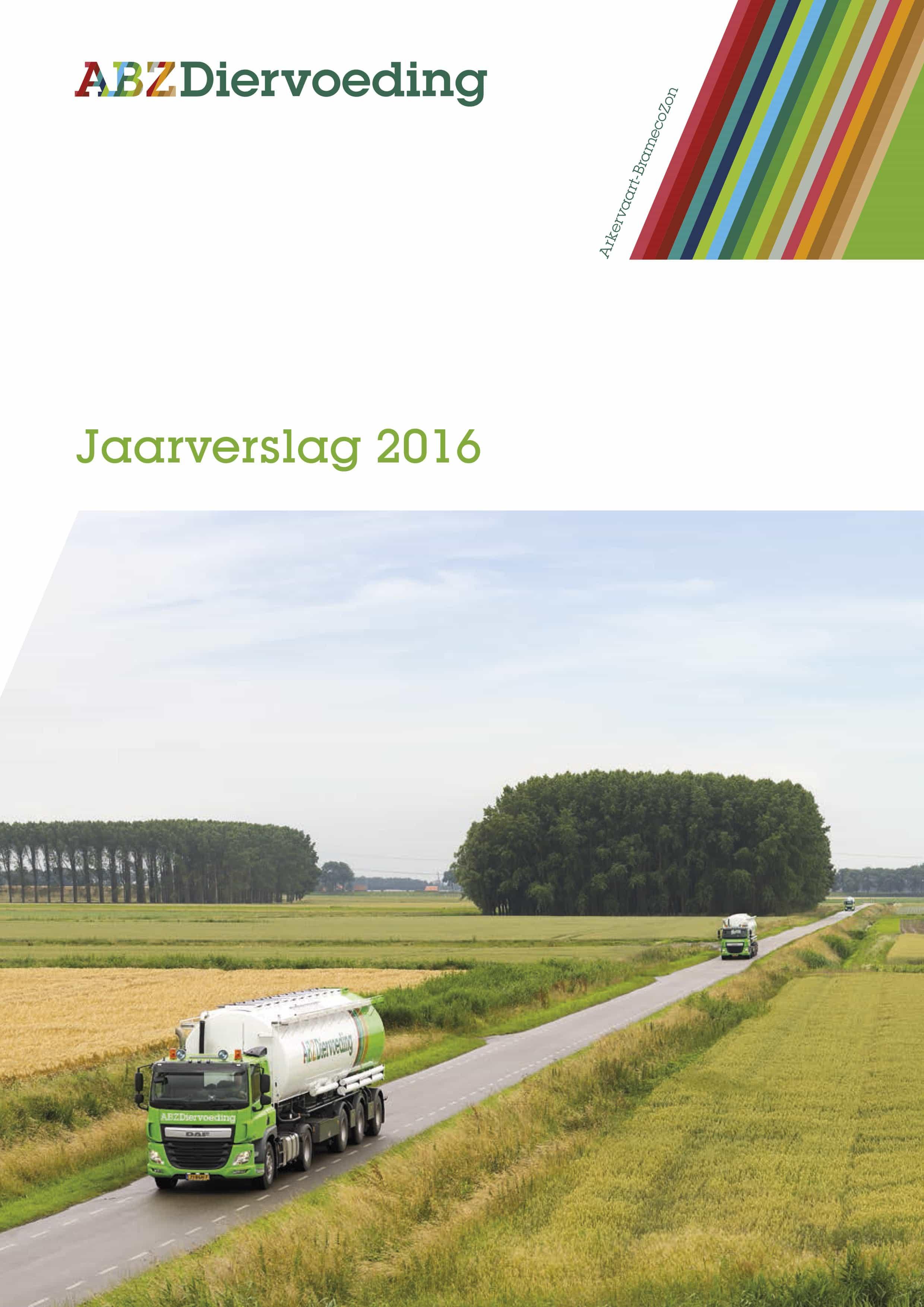 jaarverslag ABZ Diervoeding 2016