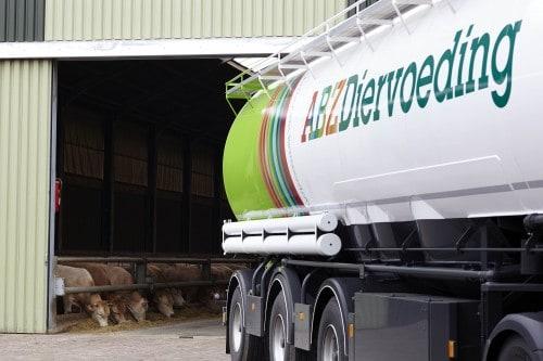 Voerleverancier Nederland bulkwagen ABZ Diervoeding