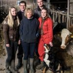 melkveehouder AH familie van der Broek
