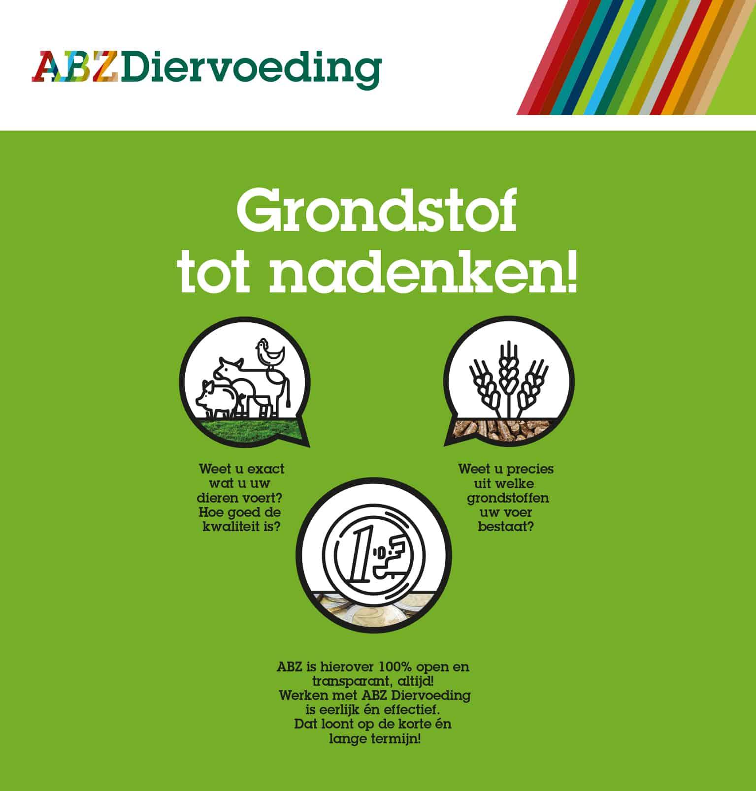 Veevoeders Diervoeding Samenwerken met ABZ Diervoeding / dat loont