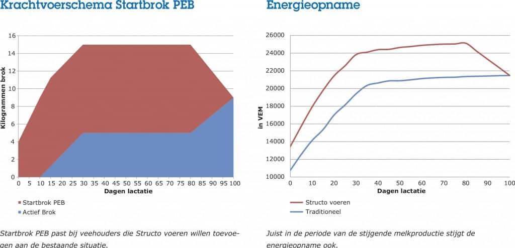 Structo voeren krachtvoerschema startbrok PEB
