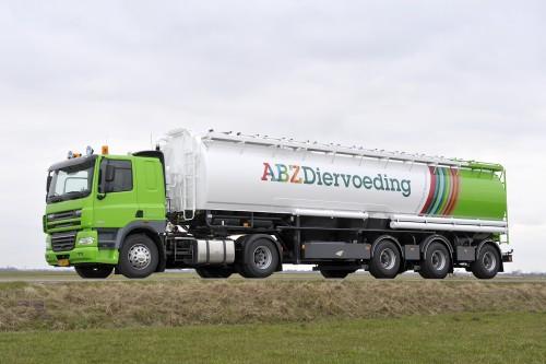 Bulkwagen voerleverancier ABZ Diervoeding