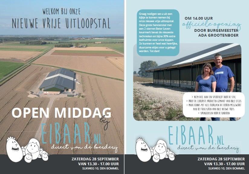 Open Dag Eibaar Den Bommel
