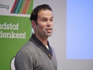 Boeren is topsport, Jongerenbijeenkomst ABZ presentatie Bas Nijhuis